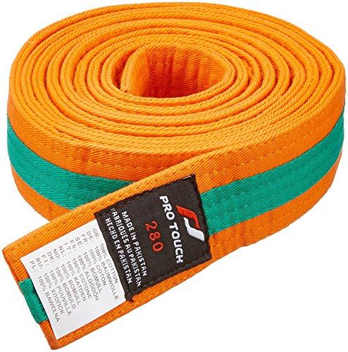 PRVFQ|#PRO TOUCH Budo Basic Cintura, Uomo, Orange/Green, M