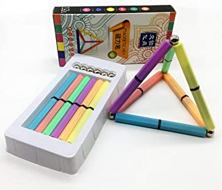 Magnetic Paint Pen Multicolor Decompression Stick Relieve Stress Color Pens Magic Gel ink Pen pack of 12 Magic marker Creative Gifts Stress Relief toys