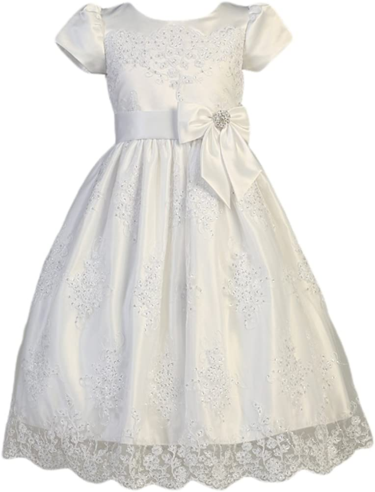 SWEA Pea & Lilli First Communion Dresses for Girls Available 7-16,Plus Size Lace