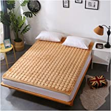 Tatami Mattress Thick Keep Warm Mattresses Foldable Tatami Multifunctional Mattress with Cotton Cover Thick 2 cm,90x200cm