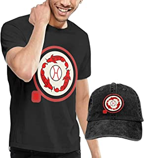 Hiroshima Carp Sengoku Crewneck Cotton Casual Man T-Shirt and Dad-Hat