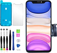 YOXINTA for iPhone 11 Screen Replacement LCD Display 3D Touch Screen Digitizer 6.1 inch Frame with Adhesive, Screen Protec...