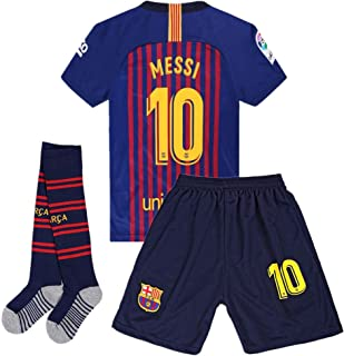 Zawhz Barcelona 2018-2019 Home Kids/Youth Messi #10...