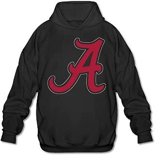 Men's Alabama Crimson Tide Football Hoodies Black