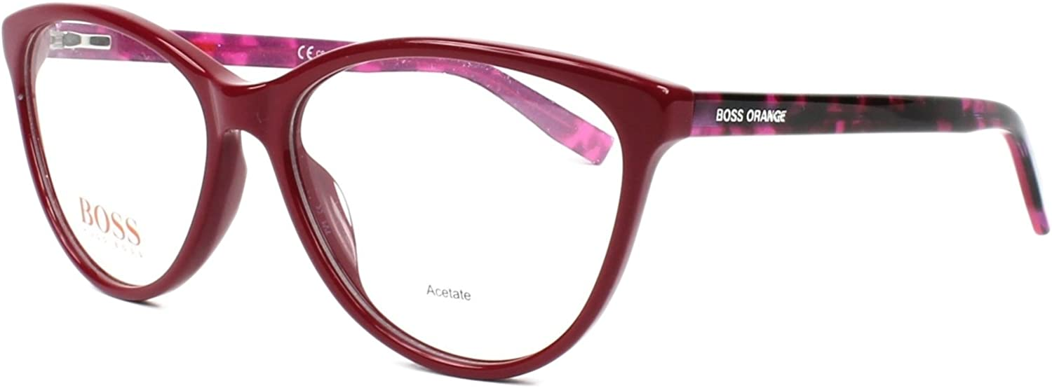 Optical frame Boss orange Acetate Fuchsia  Havana (BO 0202 2PG)