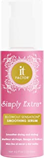 It Factor – Simply Extra – Blowout Sensation – Smoothing Serum – Professional Grade Salon Quality Hair Care – For All Hair Types - Hairdresser Pros Love It – Original Formula