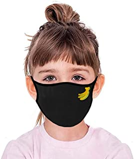 BeAcien Children Kids Unisex Anti Dust Face Mask Anti Exhaust Sunscreen Breathable Cycling Breathable Washable Mouth Muffle Mask (F)
