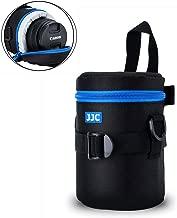 "Camera Lens Pouch JJC DSLR Camera Lens Bag Case for Canon 28-200mm 17-55mm 17-85mm 35mm Nikon 55-200mm 18-105mm 18-200mm Tamron 18-270mm any other Lens with 3.15x5.98"""