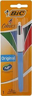 BIC 4 Colours Original Retractable Ballpoint Pen Medium Point (1.0 mm) - Pack of 1