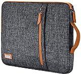 LONMEN Wasserdicht 17.3 Zoll Laptop Sleeve Hülle Tasche Laptophülle mit Handgriff für 17.3