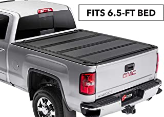 BAK BAKFlip MX4 Hard Folding Truck Bed Tonneau Cover | 448101 | Fits 88-13 GM Silverado, Sierra & C/K 2014 HD, 2500, 3500