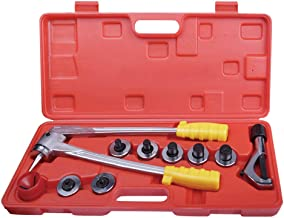 Wostore Aluminum Copper Tube Expander Tool Kit 3/8 to 1-1/8 Inches with Tube Cutter and Deburring Tool