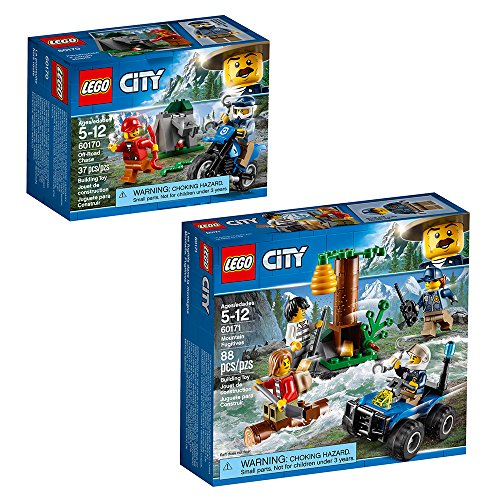 LEGO City Police City Police Bundle Building Kit (125 Pieces) (Discontinued by Manufacturer)