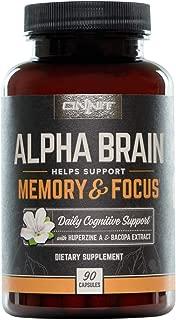 nootropics alpha brain ingredients
