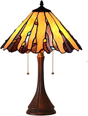 Amazon.com: Chloe iluminación ch38780vg16-tl2 tiffany-style ...