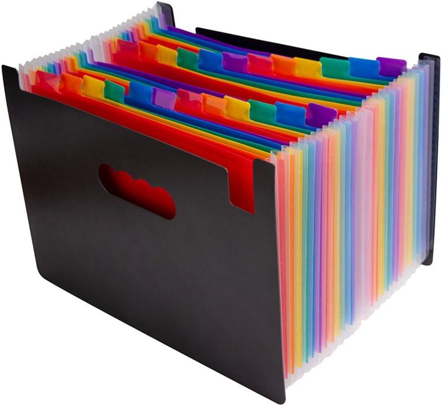 Limited price sale Accordian File Organizer 13 24 Expanding Wholesale wit Pockets Folder