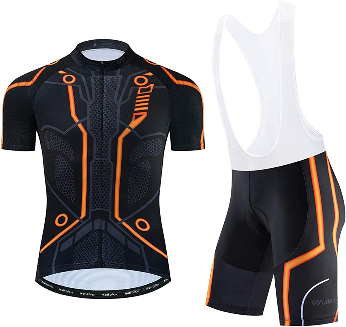 Men's Cycling Inventory cleanup selling sale Jersey Set Quick-Dry Bike with 3D for Pa Shirt 55% OFF Men