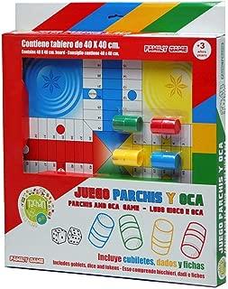 Falomir Tablero Parch/ís y Oca 33 cm Mesa 27906 Juego Cl/ásico.