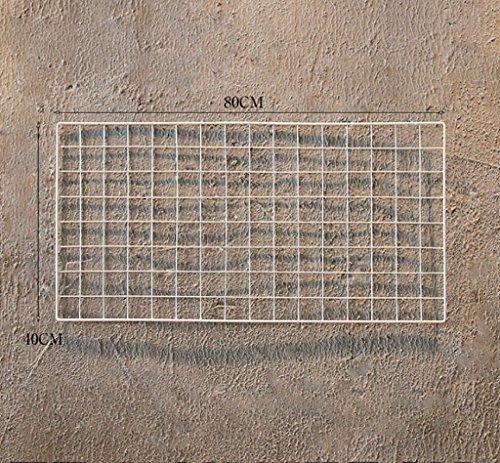 hj Drijvende Planken Iron mesh wandplank creatieve grid foto muur foto muur decoratie combinatie muur ijzer rekken