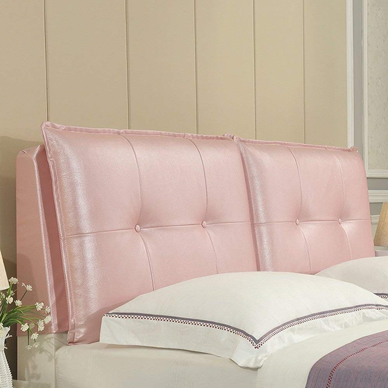 BAIF Tapis de lit tête de lit Coussins Soft Case Bedroom Grand canapé arrière Oreiller Fournitures Lavable, 5 Couleurs, 9 Tailles (Couleur  2 , Taille  avec tête de lit-120cm)