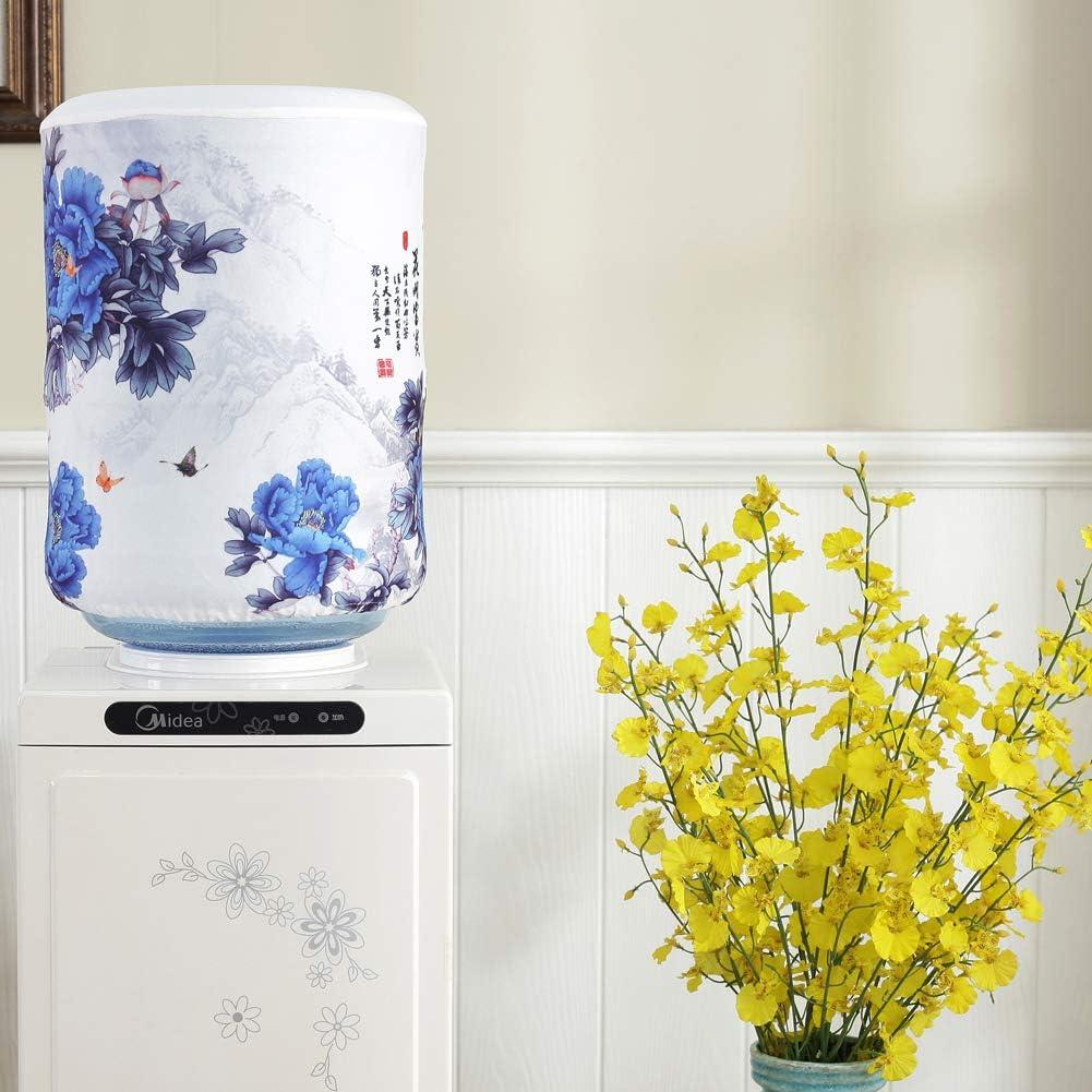 Water Dispenser Bucket Cover Water Barrel Dustproof Cover Home Decoration LP