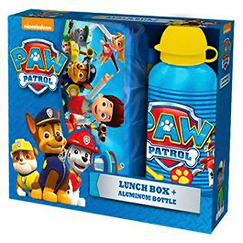 PAW PATROL - Set goûter boite et bouteille Paw Patrol Pat'Patrouille