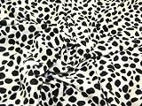 Stoff, Polyester-Velboa-Gewebe, Tierfell-Design
