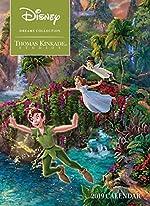 Disney Dreams Collection 2019 Calendar de Thomas Kinkade