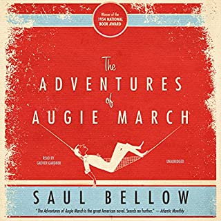 The Adventures of Augie March audiobook cover art