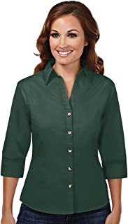 Tri-Mountain Women's Easy Care Stain Resistant Shirt - 763 Affinity