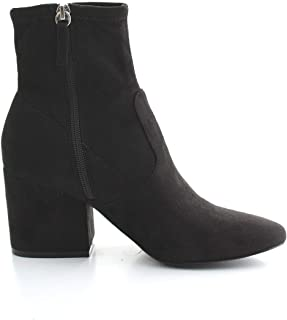 Luxury Fashion | Steve Madden Womens IBERIABLACK Black Ankle Boots | Autumn-Winter 19
