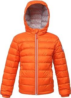 Boys' Ultra Lightweight Hooded Packable Puffer Down Jacket