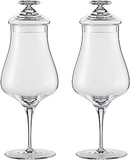 Schott Zwiesel Whisky Gläser Alloro mit Deckel 2 Stück in Geschenkverpackung