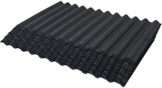 ONDURA 2356 Corrugated Asphalt Shingles (12-Pack), Black