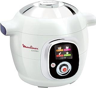 Moulinex Cookeo Multicuiseur intelligent, 6 L, 1200 W, 100 recettes préprogrammées, Jusqu'à 6 personnes, 6 modes de cuisso...