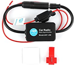 12V Ant – 208 Car Radio FM AM Antenna Signal Amplifier Booster for Marine Car Boat RV