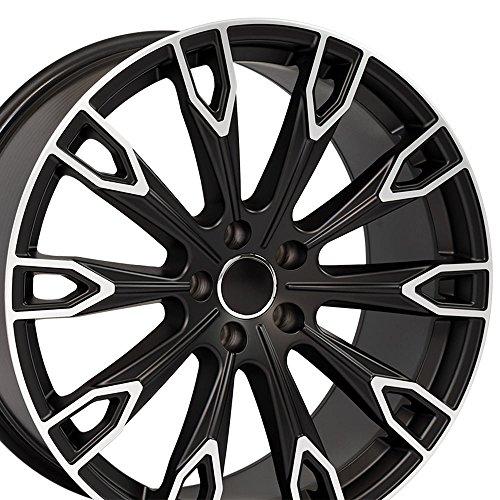 OE Wheels LLC 20 Inch Fits Audi Q5 TT A4 A5 A6 A7 A8 Q7 Q7 Style AU32...