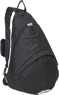 Everest - Bolso bandolera de lujo para equipaje, Negro, Una talla