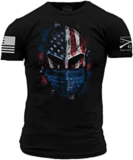 Grunt Style American Spartan Prepared - Men's T-Shirt