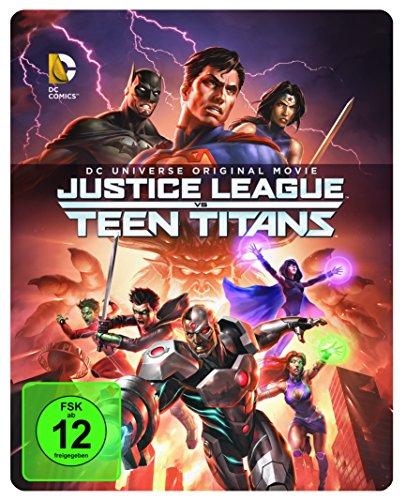 DCU Justice League vs. Teen Titans Steelbook (exklusiv bei Amazon.de) [Blu-ray]