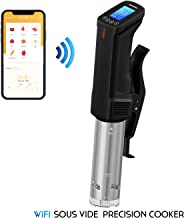 Inkbird WiFi Precision Cookers Sous Vide AU Plug ISV-100W 1000W Stainless Steel Thermal Immersion Circulator with Recipe Digital Interface Precise Temperature and Timer for Kitchen Food Slow