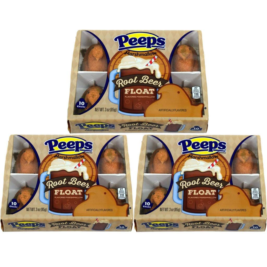 outlet Peeps Kansas City Mall Root Beer Float Flavored B Candy Marshmallow Easter –