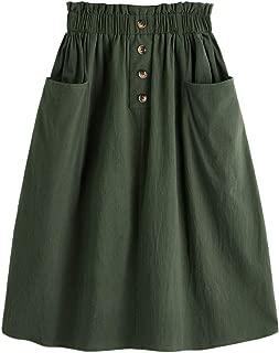 Best satin floral midi skirt Reviews