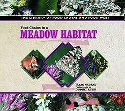 سلاسل الطعام في مجموعة Meadow habitat (مكتبة للطعام سلاسل من الأطعمة webs)