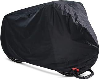 Koyota 自転車カバー サイクルカバー 防水 防風 撥水加工UVカット 210Dオックス製 破れにくい 29インチまで対応 収納袋付き