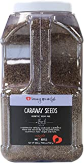 Loving Spoonful 68.1 oz Premium Whole Caraway Seeds   Food Service 4.5 lb Bulk Size