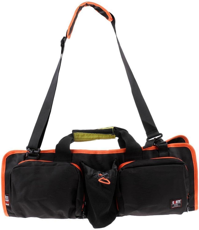 Waterproof Universal Yoga Mat Roll Pack Carry Shoulder Tote Bag, Mesh Pocket