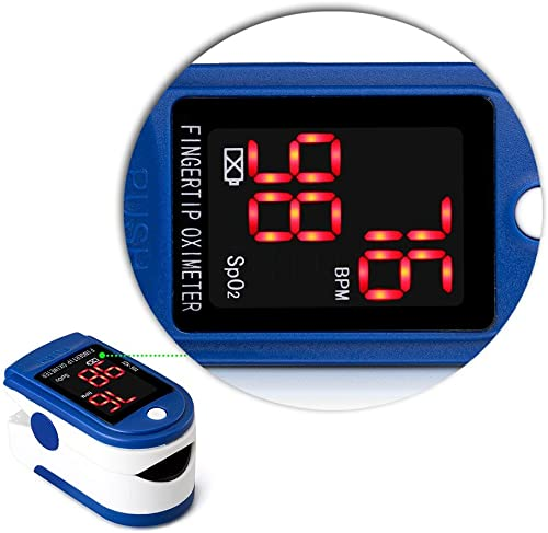 Generic Health Care Automatic Fingertip Blood Pressure Monitor Digital LCD Blood Pressure Meter Tonometer