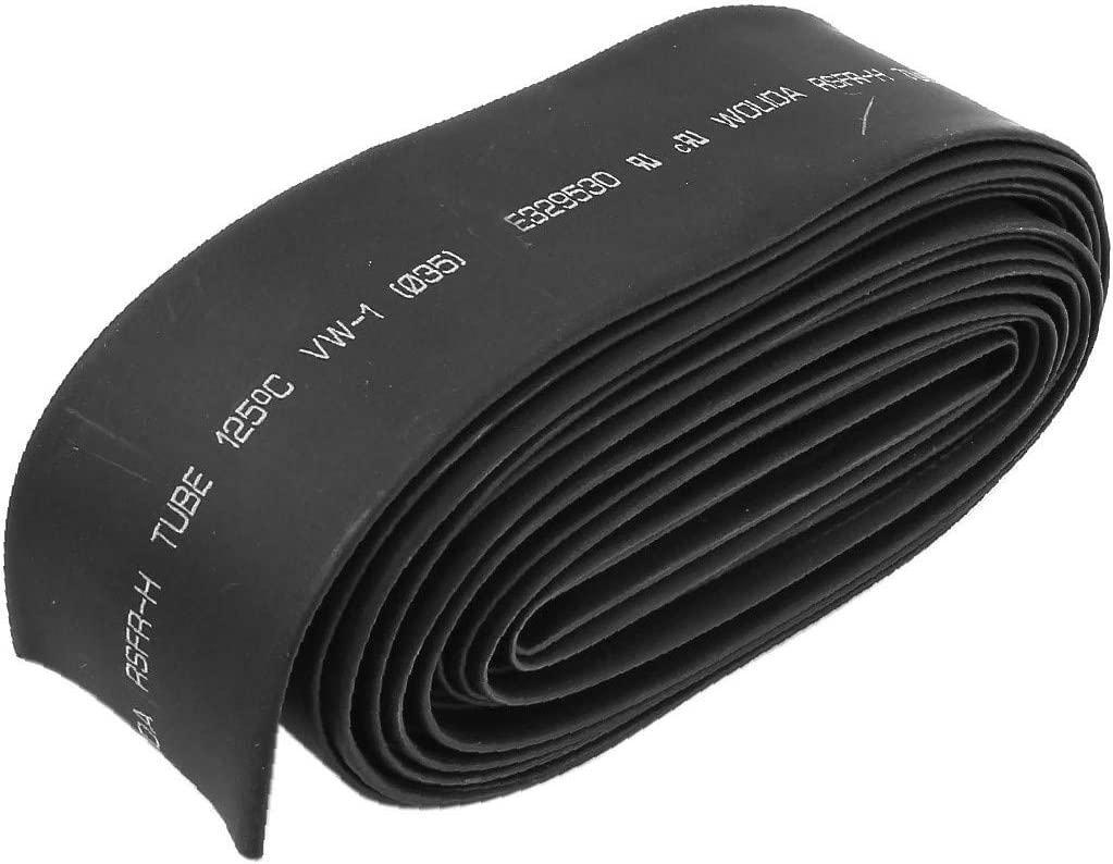 X-DREE Direct store 35mm Dia 5.4M 18Ft 2:1 Wrap Cable Heat Shrink Wire Award-winning store Tubing