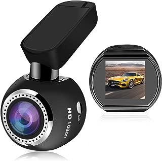 Car Dash Cam WiFi FHD 1080P Car Dash Camera Mini 360 Degree Rotate Angle Dashboard Camera DVR Recorder with G-Sensor, Night Vision, Motion Detection, WDR